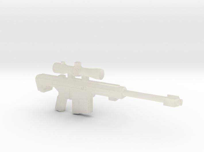 Barret 50.c Sniper Rifle 3d printed