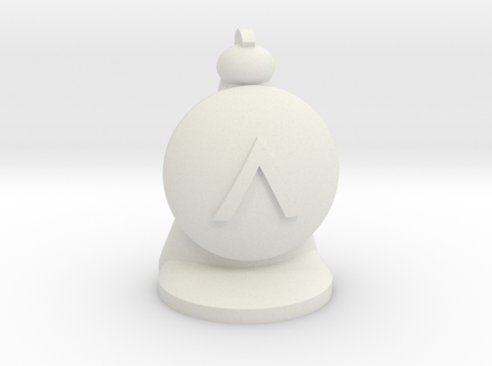 Hoplite for Spartan Chess™ 3d printed