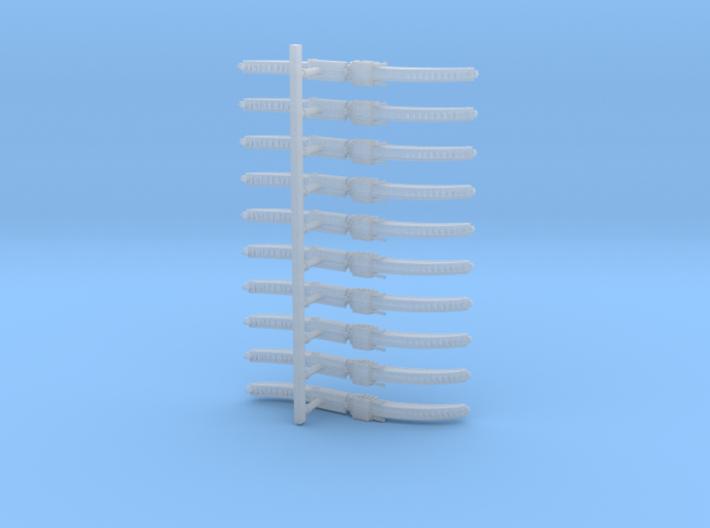 Mk1 - Chain-Tonfa (x10) 3d printed