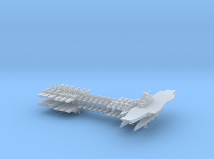INS Fleet 1:6000 (36 ships) 3d printed