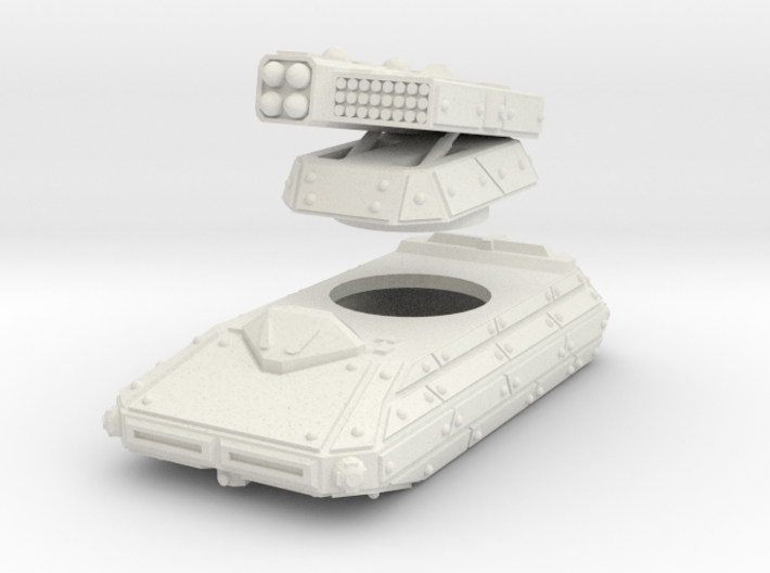 MG144-CT007 Capacitor Missile Tank 3d printed