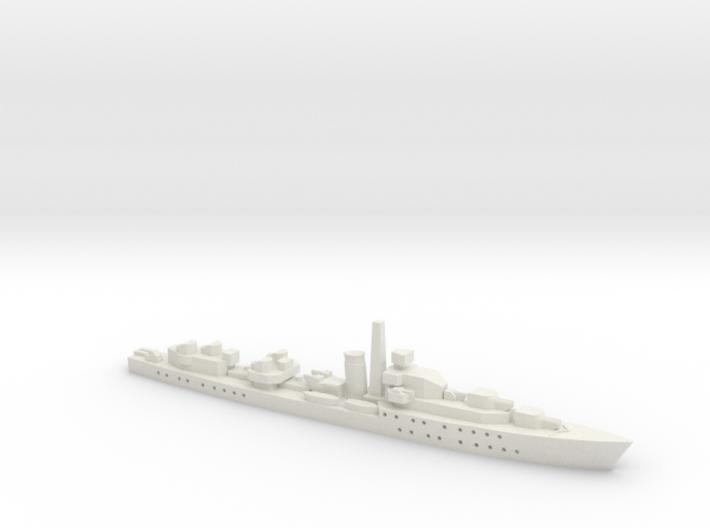 HMS Barfleur (Battle class) 1:1800 3d printed