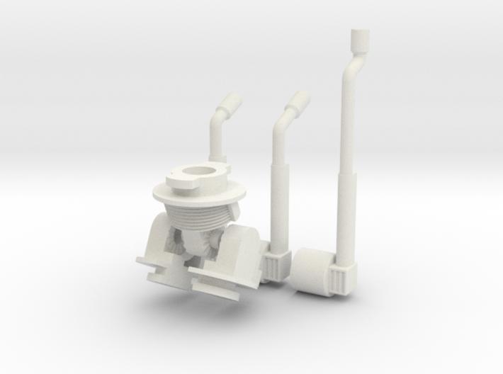 Robot V WSF parts 3d printed