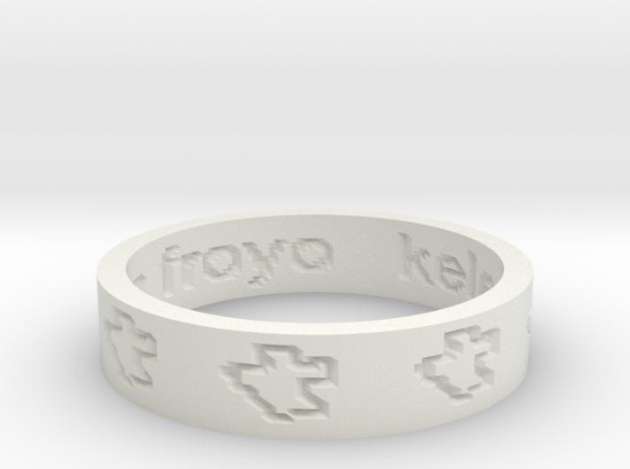 by kelecrea, engraved: kelecrea 2.2 test on froyo 3d printed