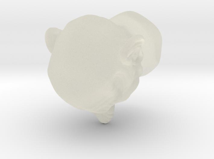 Funny Head 3d printed