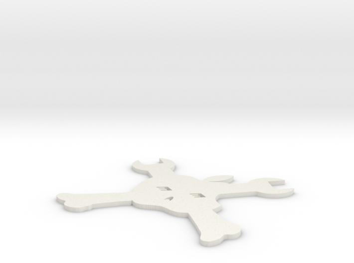 hackbook logo 3d printed