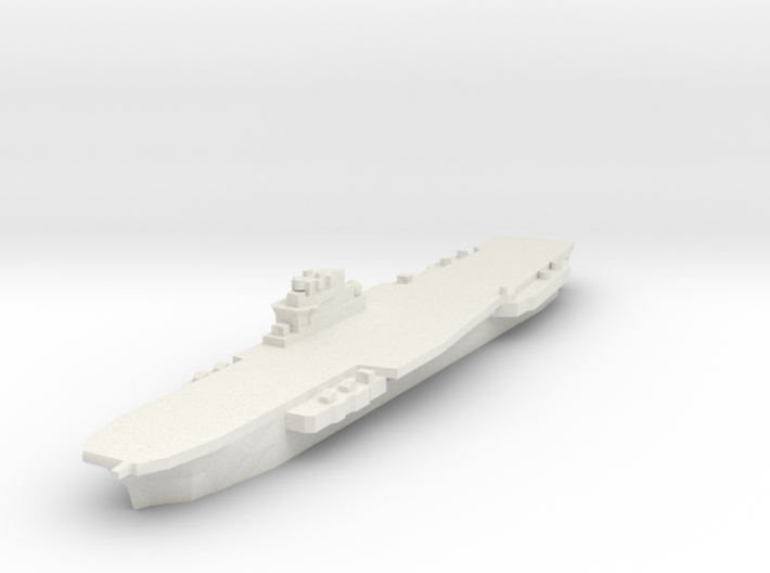 Clemenceau Carrier 1:3000 x1 3d printed