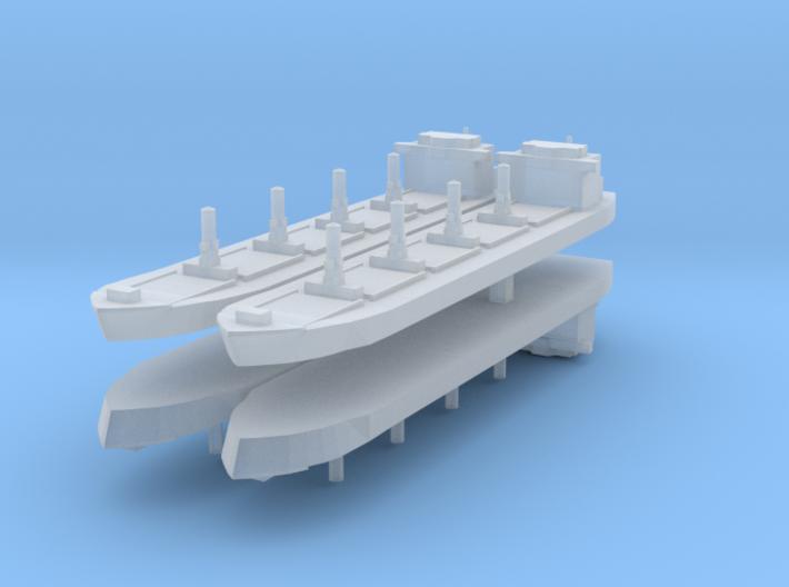 Generic Bulk Carrier 1:4800 x4 3d printed