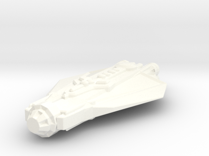 Mezzondra Transport Ship 3d printed