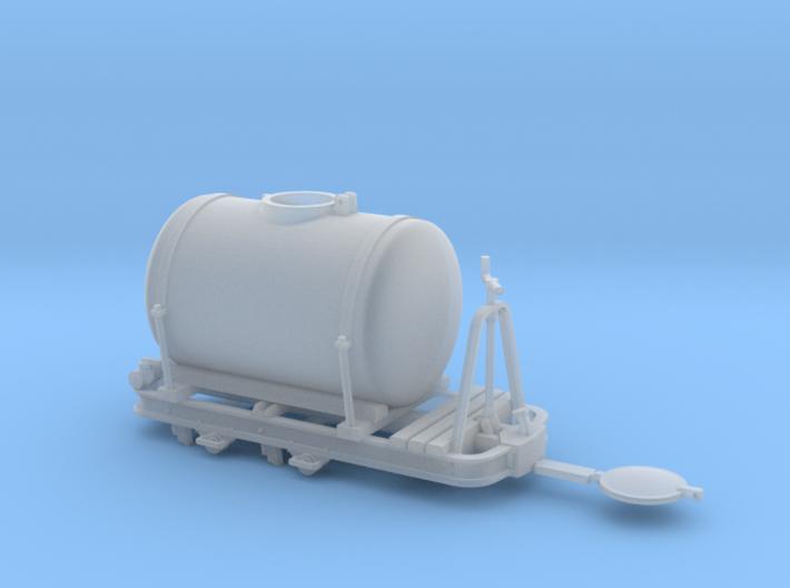 Feldbahn Tanklore gebremst Spur 0f 3d printed