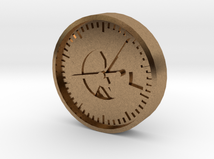 Aviation Button - Altimeter 3d printed