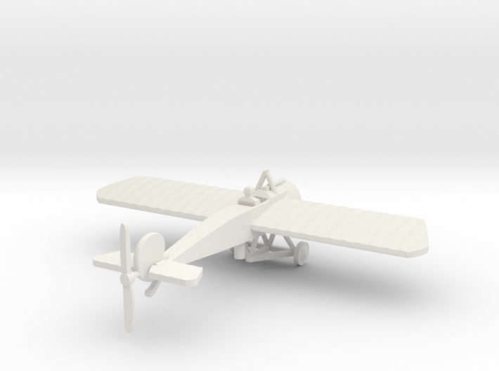 FOKKER EIII WITH PILOT 1/144th 3d printed