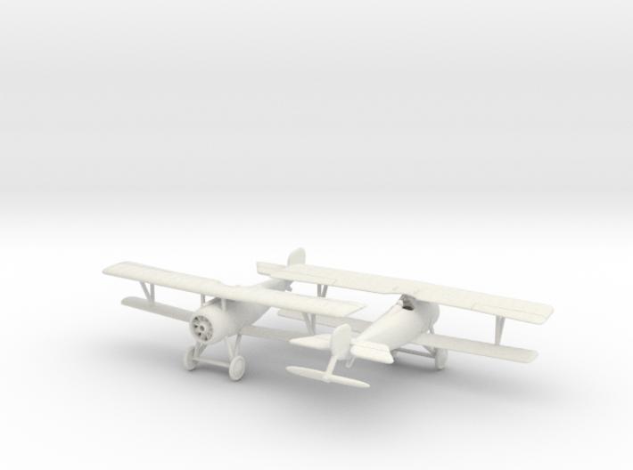 1/144 Nieuport 17 (Vickers) x2 3d printed