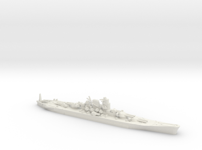 "1/3000 IJN Never Were Super Yamato 8 x 20"" 3d printed"
