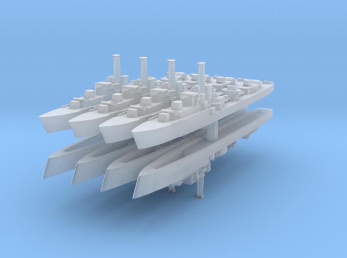 HMS Caesar (1944) (Ca-Class) 1:3000 x8 3d printed