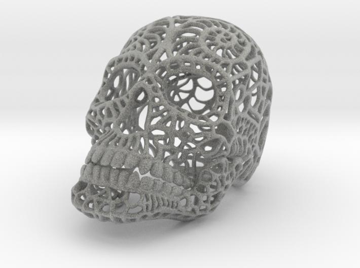 Nautilus Sugar Skull - MEDIUM 3d printed