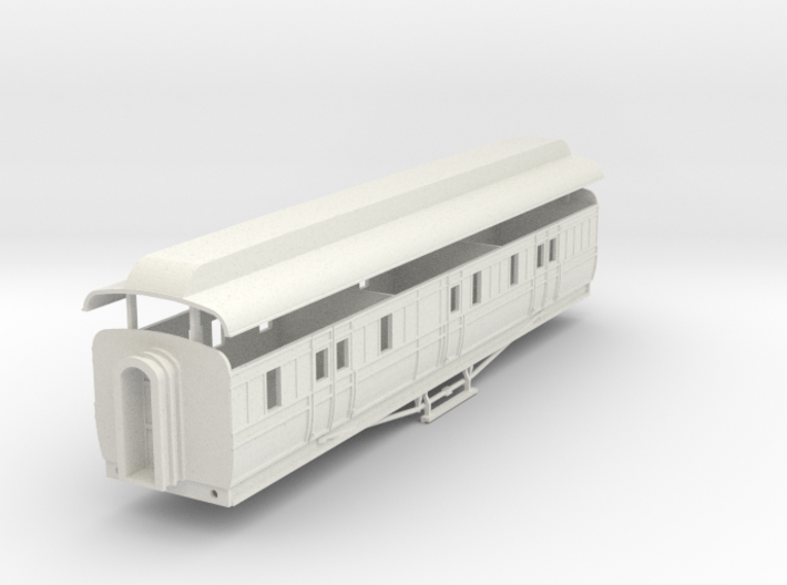 3mm scale GNRi M1 van without duckets 3d printed