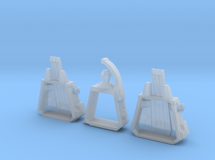 6mm DeathBot War-Pyramid (x1) 3d printed