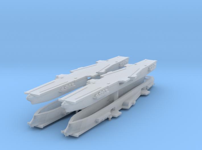 CVA-58 1:6000 x4 3d printed