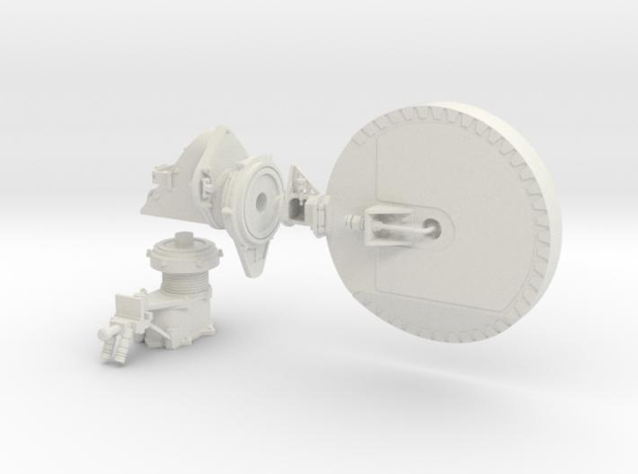 Mars Rover HGA Dish 1:4 Scale 3d printed