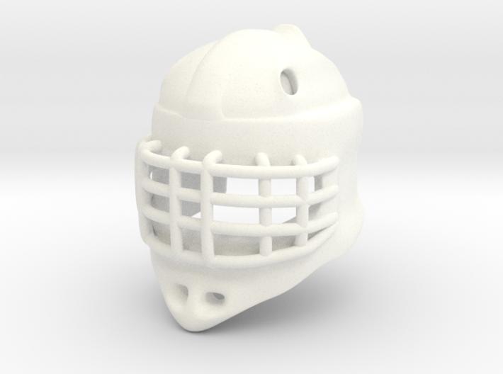 Ice Hockey Golie Helmet (prototype) 3d printed