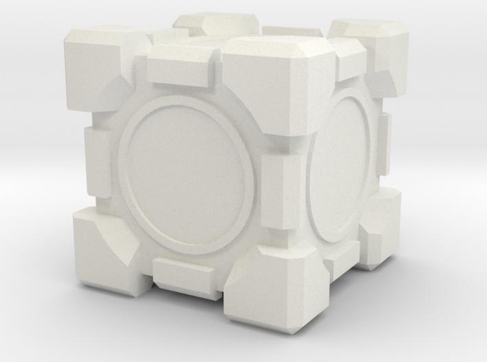 Companion Cube 100x100mm 3d printed
