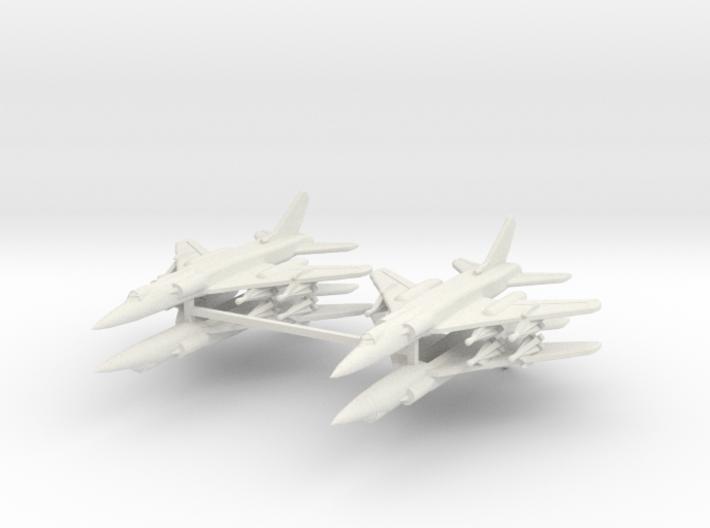 Tu-28 1:600 x4 (WSF) 3d printed
