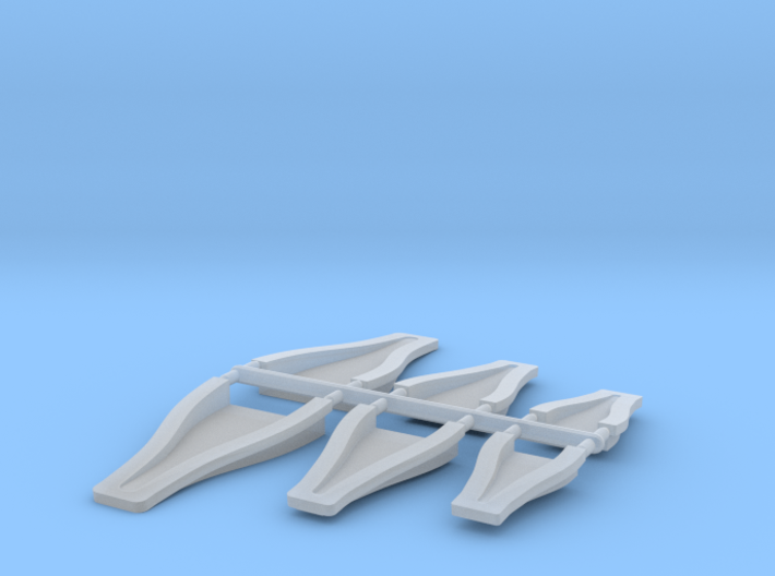 1/12 Scale NACA Duct Assortment 3d printed