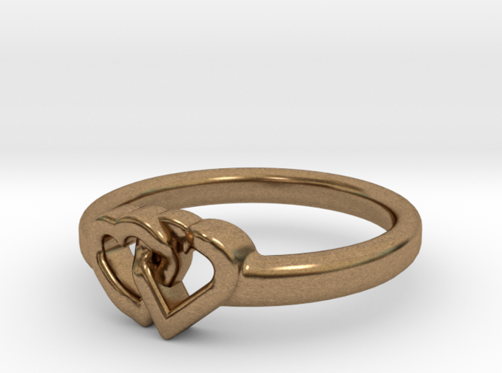 Entangled Love Small Sz20 3d printed