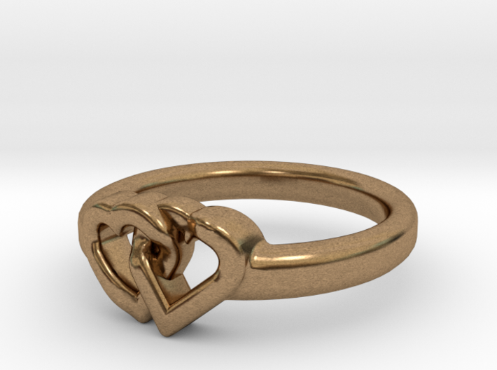 Entangled Love Small Sz18 3d printed