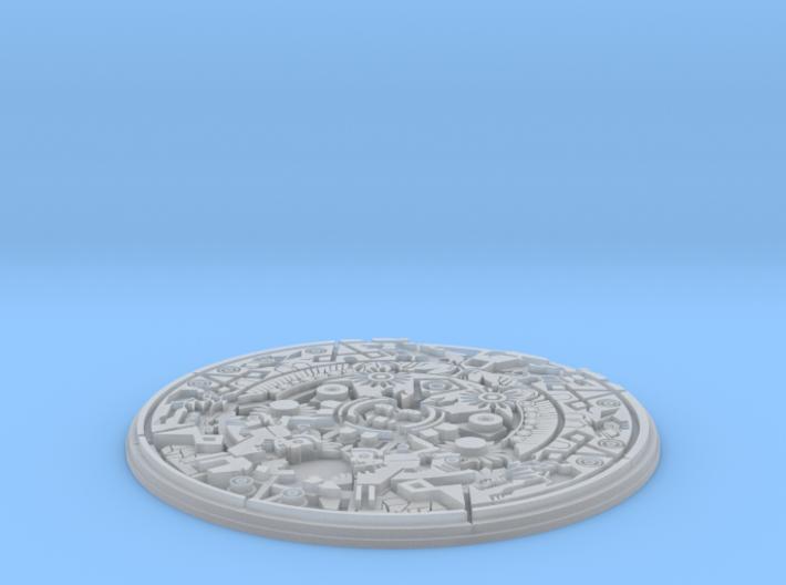Aztec Medallion 3d printed