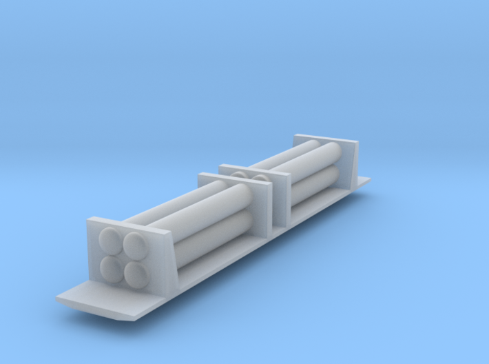 Tank Car - Z scale 3d printed