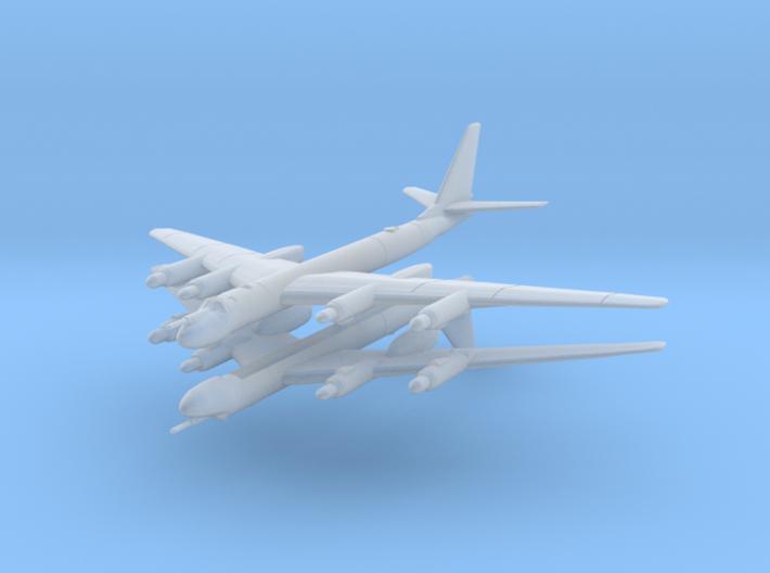 Tu-95 1:700 x2 3d printed