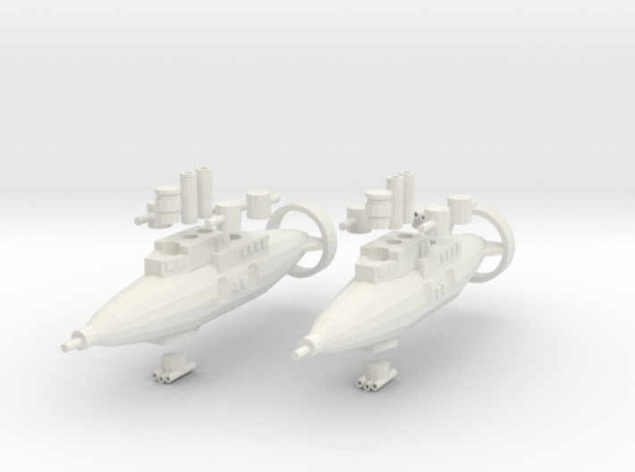 Hillar Class Destroyer 3d printed