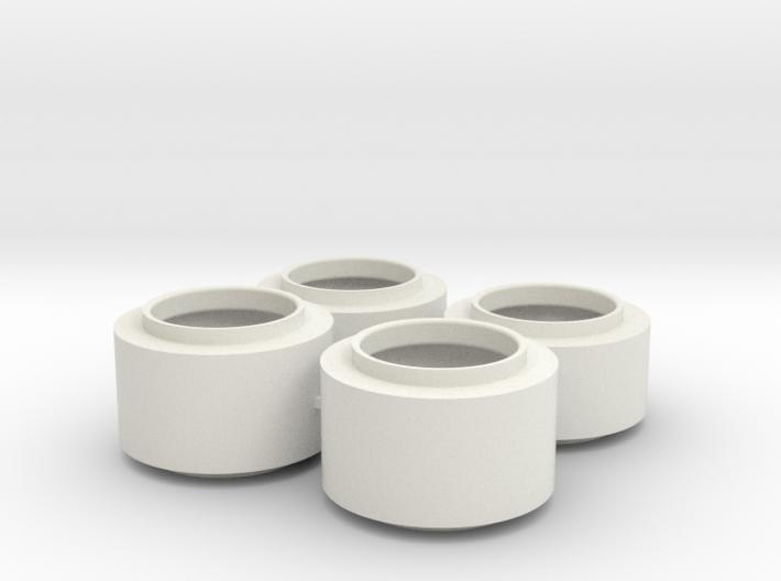 F1 Wheels V1 3d printed