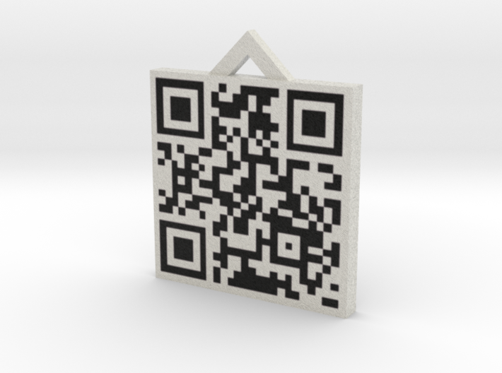 QRCode -- http://www.Little-Devil.com 3d printed