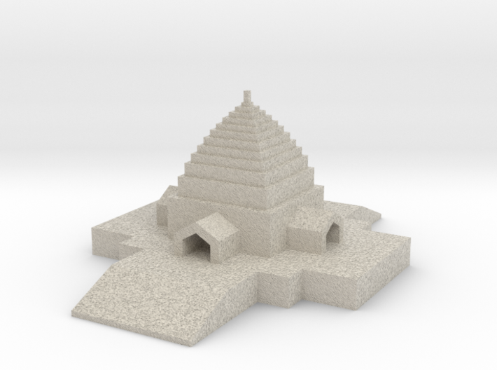 The Capitol -Walter Burley Griffin and Mary Mahony 3d printed