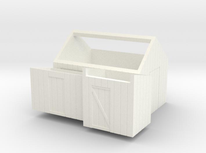 H0 logging - Small Sheds (3pcs) 3d printed