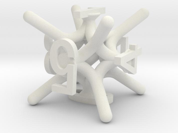 Jax d6 Dice 3d printed
