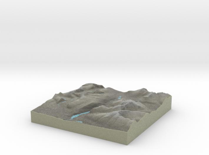 Terrafab generated model Tue Jan 28 2014 22:29:00 3d printed