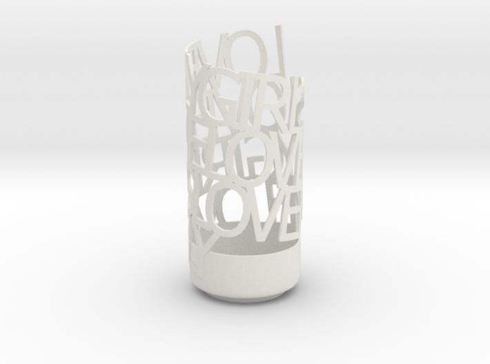 Lovely Girls Love Me Lovely 3d printed