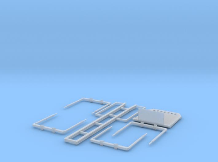 1/87 Kurzholztransporter Zugmaschinenaufbau lang 2 3d printed