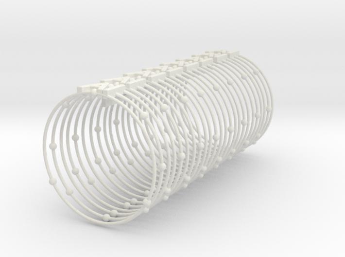 Aluminum Element Napkin Ring 3d printed