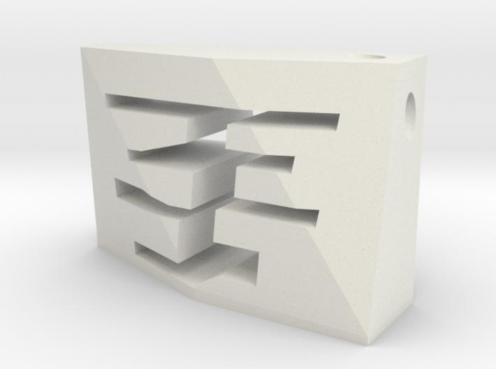 acceNL GF Silver(1:5000) 3d printed