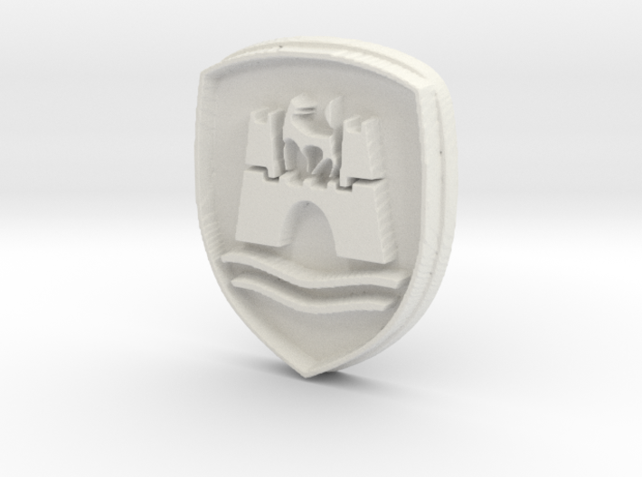 Wolfsburg logo for classic Volkswagen VW 3d printed