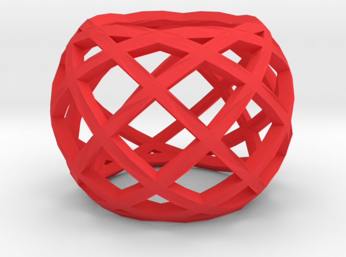 Openwork ring 3d printed