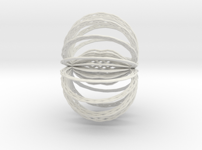 Bach's Cello Suite #1 Prelude as a shape 3d printed