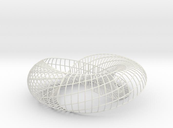 spiraling arc | bracelet 32x8 | SLS 3d printed