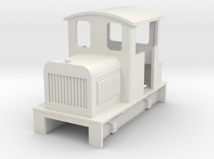 Sn2 diesel loco body 3d printed