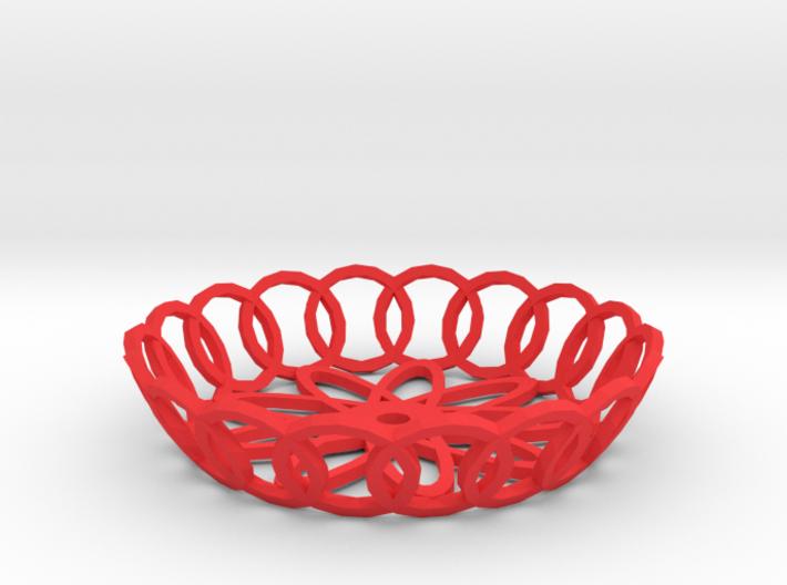Basket 3d printed Basket pendant